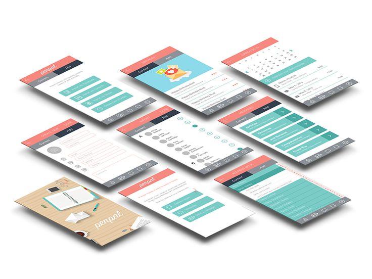 Penpal App by Sarah Trafford