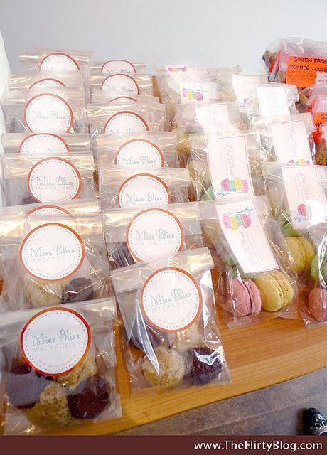 macaroons-macarons-sf-blogger-bake-sale by The Flirty Girl, via Flickr