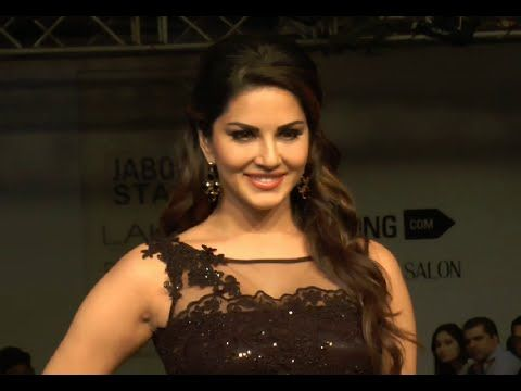 Sunny Leone as a GUEST at Lakme Fashion Week 2015.