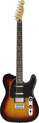 Fender Blacktop Telecaster Baritone, Rosewood Fingerboard - 3-Color Sunburst *** You can find out more details at the link of the image.