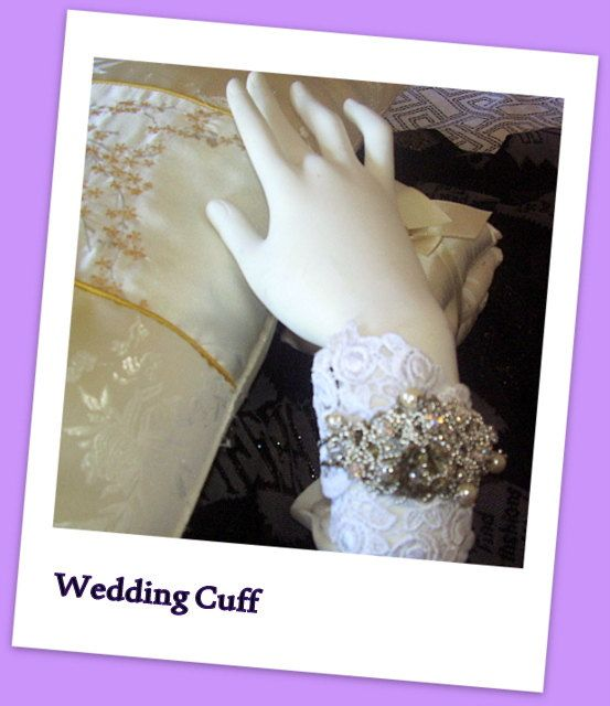 Check out this item in my Etsy shop https://www.etsy.com/au/listing/239391048/wedding-cuff-bracelet-silver-french-lace
