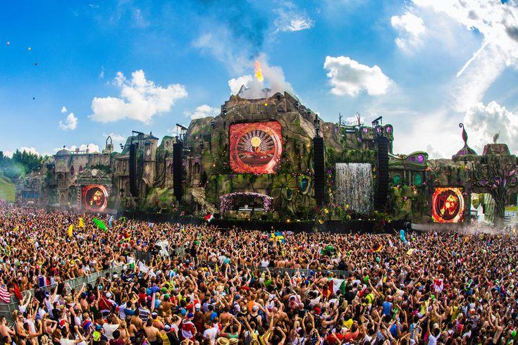 世界三大フェスの「Tomorrowland」はベルギー発のEDMイベント!レイブ音楽