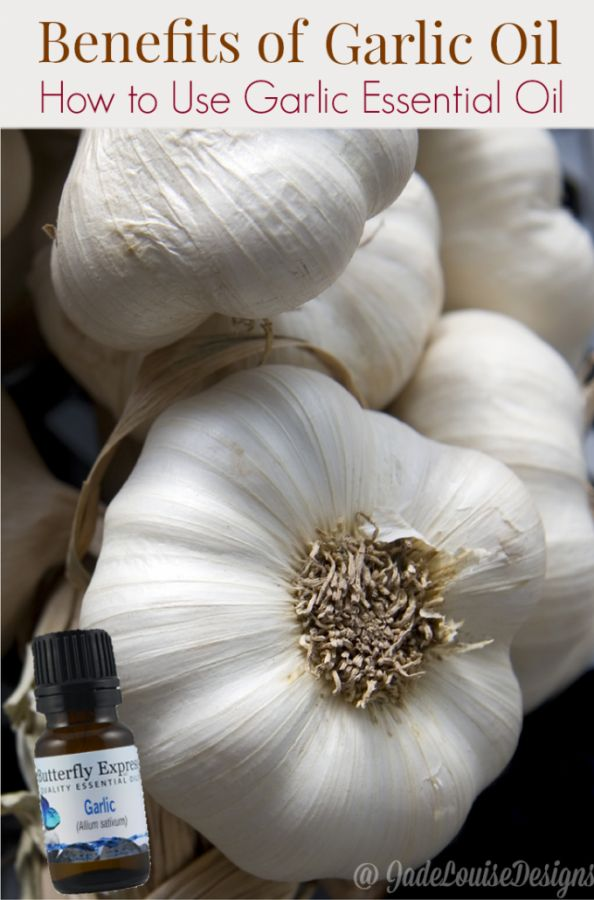 The numerous Benefits of Garlic Oil and how to use Garlic Essential Oil via @2creatememories