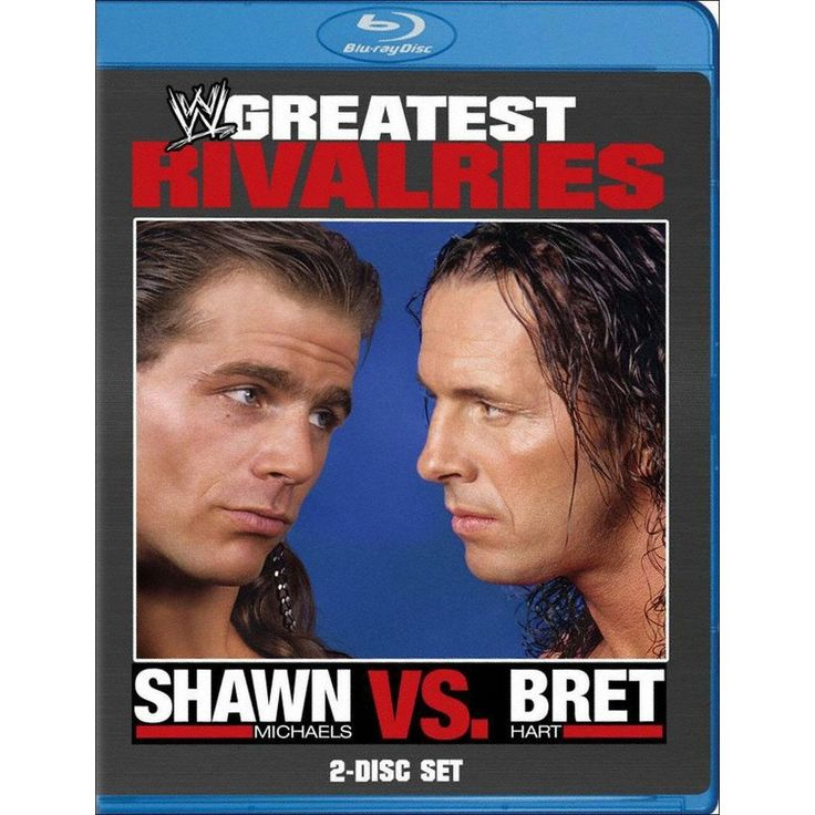 WWE's Greatest Rivalries: Shawn Michaels vs. Bret Hart (2 Discs) (Blu-ray)