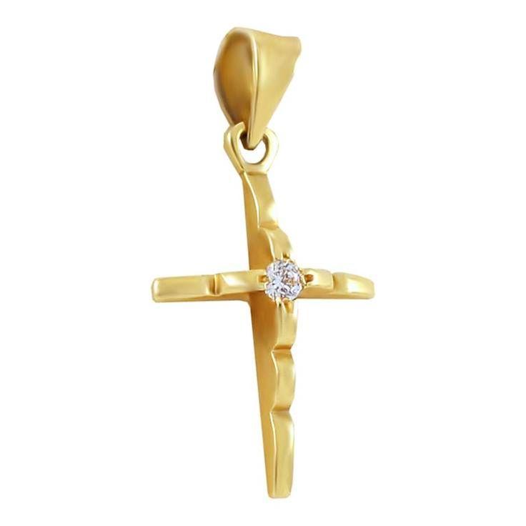 ΣΤ218Τ -Χρυσός σταυρός