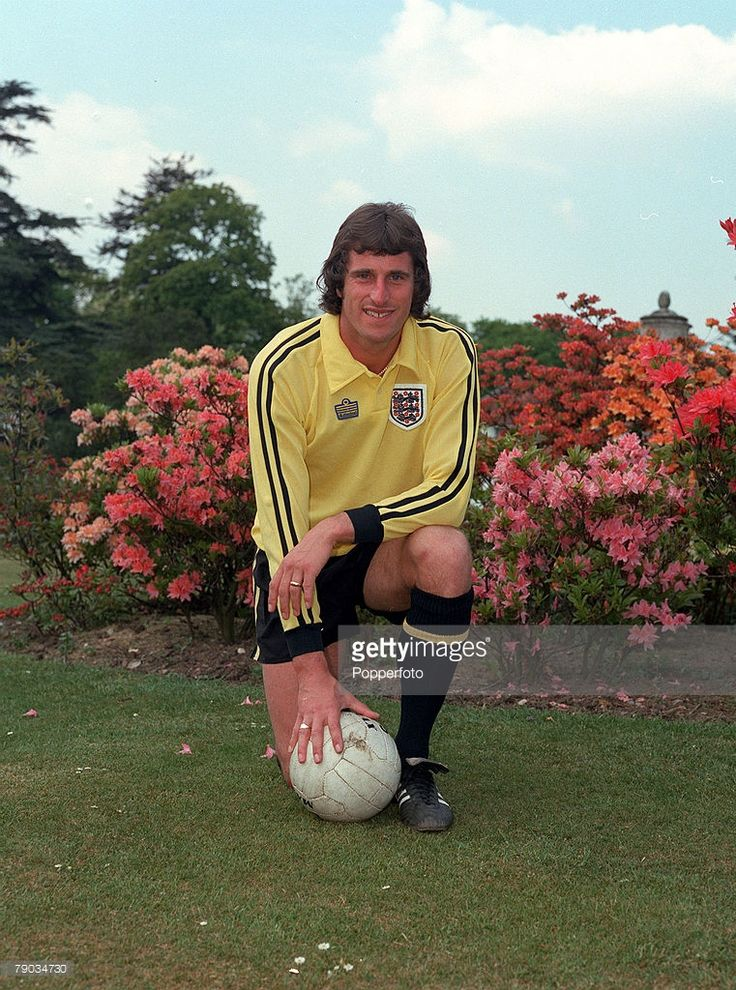 Sport Football Liverpool and England goalkeeper Ray Clemence