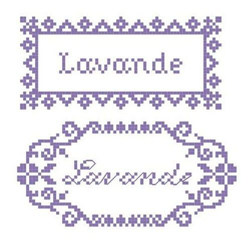 free cross stitch chart Love the bottom one for sachets...