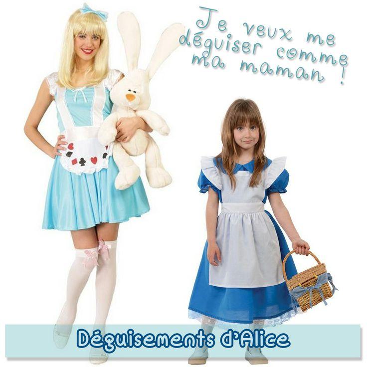 Bienvenue dans l'univers merveilleux de la jeune Alice, une petite fille très curieuse ! Deux déguisements adorables !!