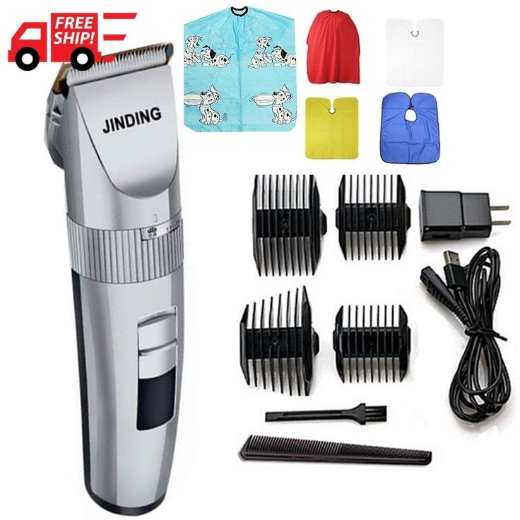 Hot Hair Cut Clipper Professional Trimmer Machine Beard Ceramic Blade Dual combs #QianHe