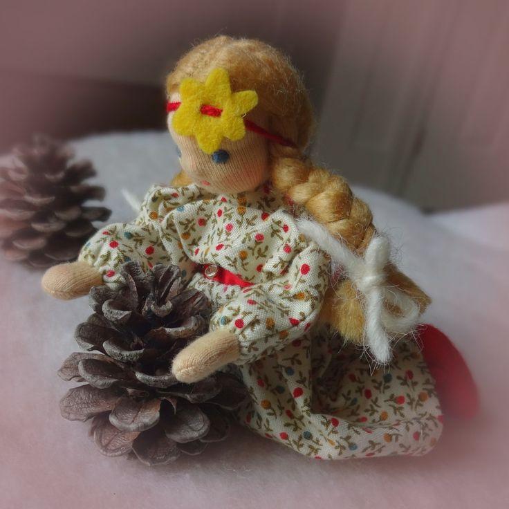 Waldorf dollhouse doll