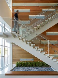 Image result for commercial stair interior