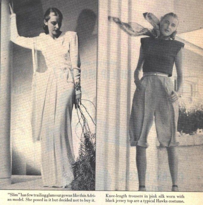Slim Hawks (Slim Keith) in 1947.