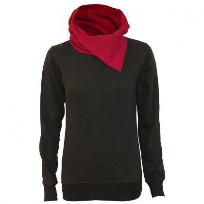 Urban Fashion - rød hals genser