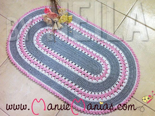 Tapete Oval De Cr ~ 1000+ ideias sobre Tapete De Croche Oval no Pinterest