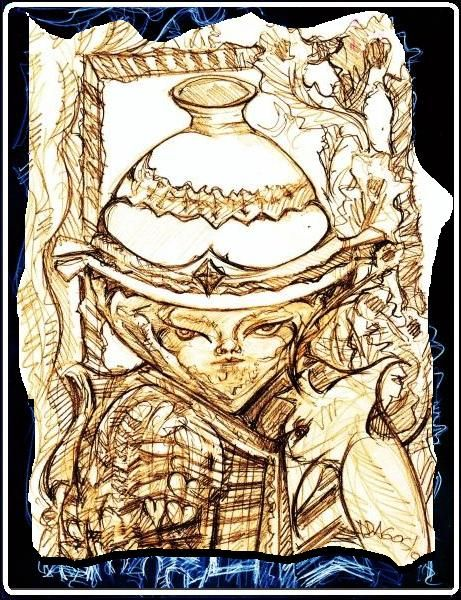 public domain- for cups - porcelain