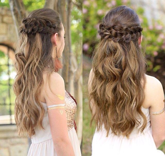 Cgh Hairstyles: Best 25+ Braided Half Up Ideas On Pinterest