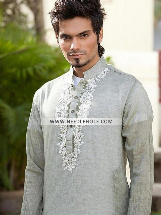 Designer Shalwar Kurta Suit For Men In Cotton Fabric. Buy Stylish Men's Kurta Shalwar Suits Now! Full Range Of Junaid Jamshed Kurta Salwar Designs At Needlehole