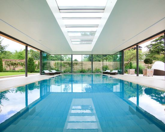 211 best pool design images on pinterest - Enclosed swimming pools ideas ...