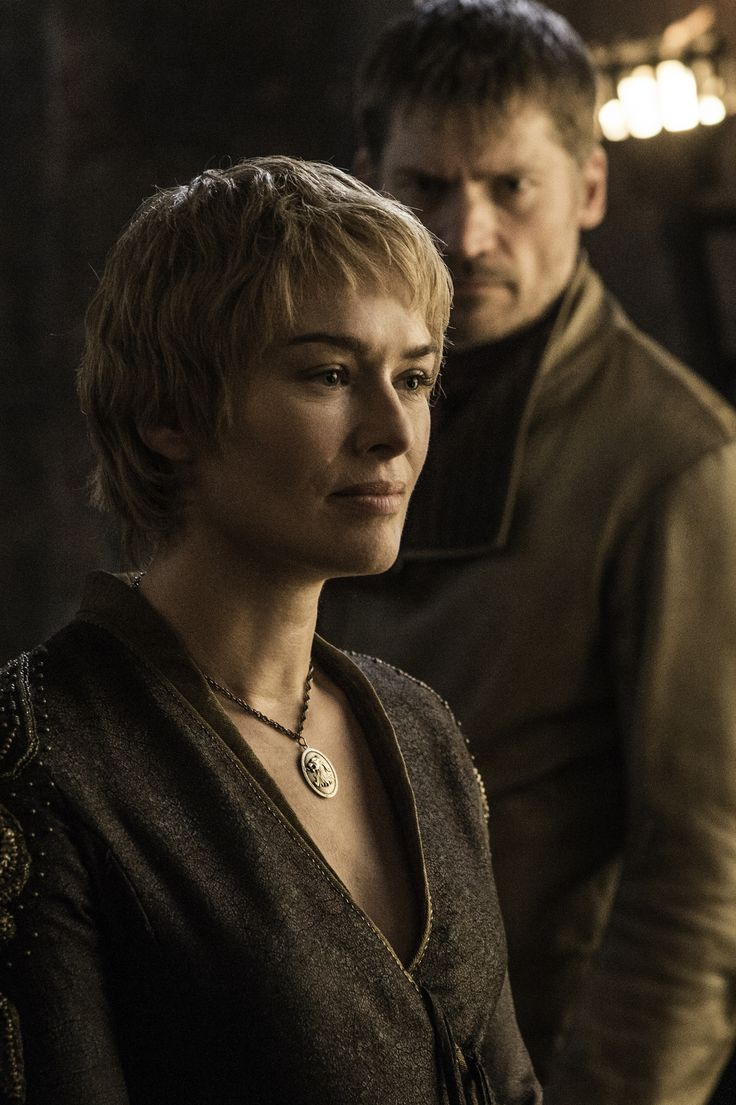 Cersei and Jaime Lannister. Episode 3, Season 6 of Game of Thrones