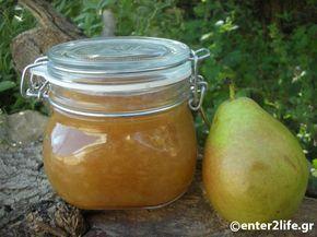 Μαρμελάδα Αχλάδι - Homemade Pear marmelade http://www.enter2life.gr/25550-marmelada-achladi.html