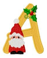 #FREE Santa Alphabet  A new letter each day! Each letter will remain free for 7 days only, so get them quickly! Options to purchase are available