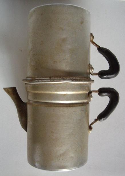 vecchia caffettiera napoletana alluminio