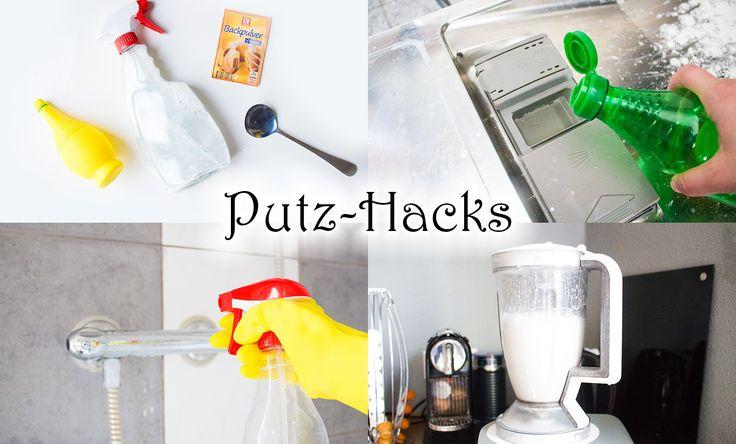 Putz-Hacks die dein Leben erleichtern - DIY Reiniger - Haushalt aufräumen
