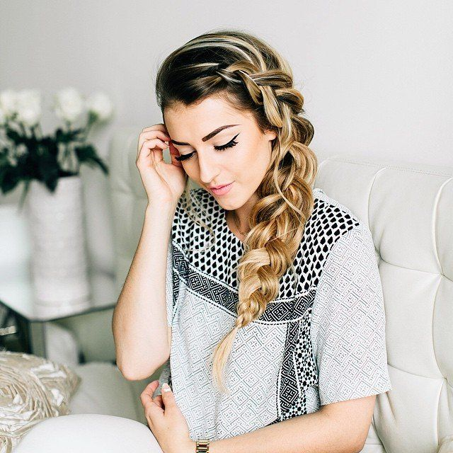 Pin for Later: The Real Girl's Guide to Every Gorgeous Braid From Pinterest Dutch Braid