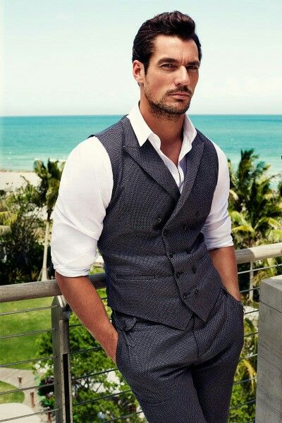 David Gandy for @dolcegabbana #DGLightBlue 2015, Miami Beach edition by Victor Demarchelier