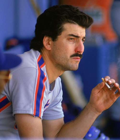 Keith Hernandez smokes, even if Elaine Benes disapproves