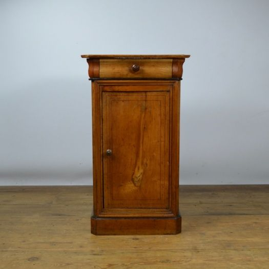 B101 - French Fruitwood Pot Cupboard | Claire Langley Antiques, Stamford