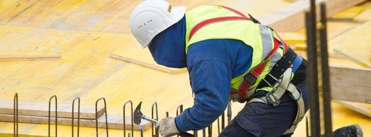 Konjunktuboom in Deutschland 2015 - Bauarbeiter in Frankfurt: Zeichen einer Überhitzung?