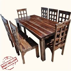 Portland Rustic Furniture Dining Room Table