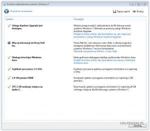 Jak sprawdzić czy na moim komputerze będzie działać Windows 7? - Potyczki informatyczne