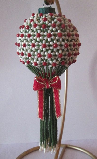 My Tussie-Mussie Beaded Ornament E-Pattern by cathylikestocraft