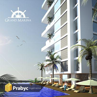 #GrandMarina, ubicado en una de las bahías más lindas del #Colombia: #SantaMarta ¡Vivirás una experiencia inolvidable! #Comodidad, #descanso y #diversión. Encuentra más información en www.grandmarina.com.co