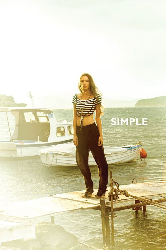 Greek summer is SIMPLE...