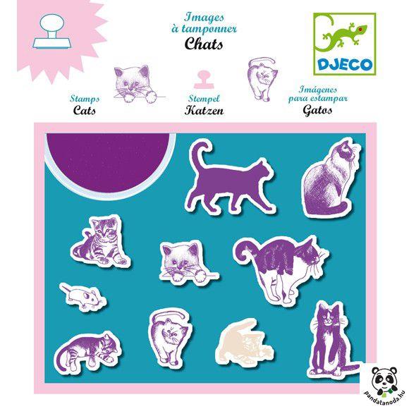 'Macskák nyomda Djeco Cats | Pandatanoda.hu Játék webáruház