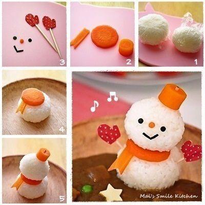 So cute food ! ♥