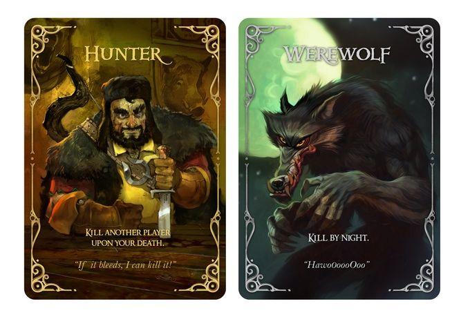 Wolfed (werewolf card game) by Nikolay Nedev — Kickstarter                                                                                                                                                                                 More