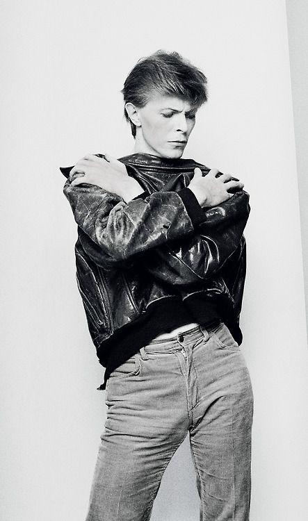 David Bowie, I think you have your jacket backwards