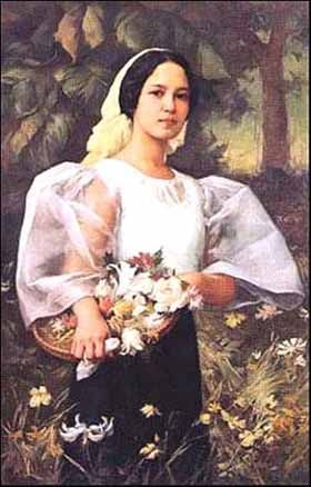 Amorsolo was known for sunny landscapes of Luzon and smiling images of dalagang bukid (country girls). His rendition of Philippine sunlight and its nuances was unparalleled during his time. Fernando Amorsolo was named National Artist in 1972.Filipino Cultured: The Best of Filipino Art: Fernando Amorsolo