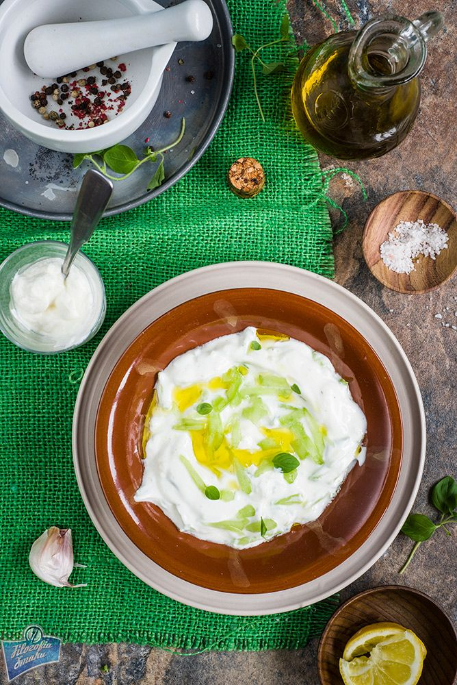 Sos tzatziki- idealny sos na grilla