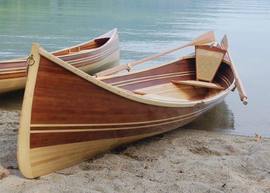 Building an Adirondack Guideboat: Wood Strip