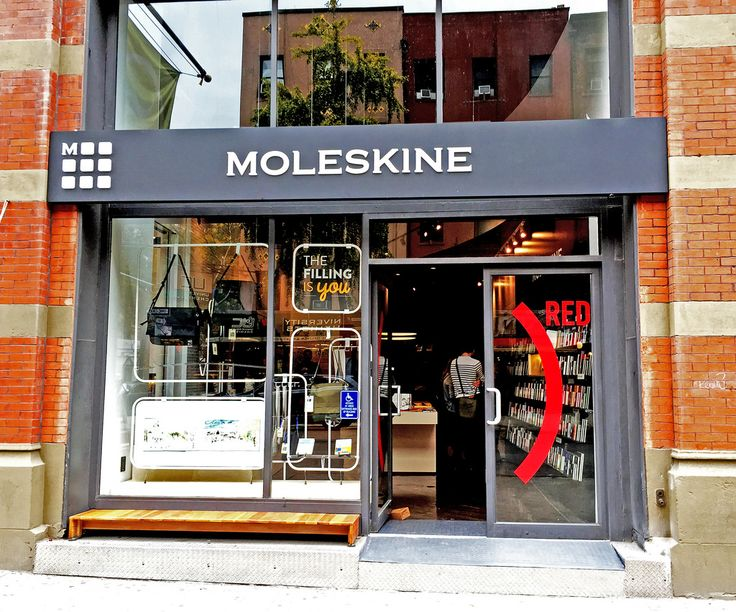Moleskine Store | New York NYU New York, 10003 75 University Place, Monday-Friday: 9am-8pm Saturday: 10am – 7pm Sunday: 11am – 6pm