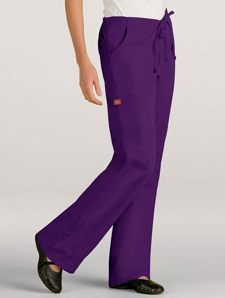 Back Elastic Cargo Pant for $16.99 ONLY! #dickies #scrubs #uniform #medical #suit