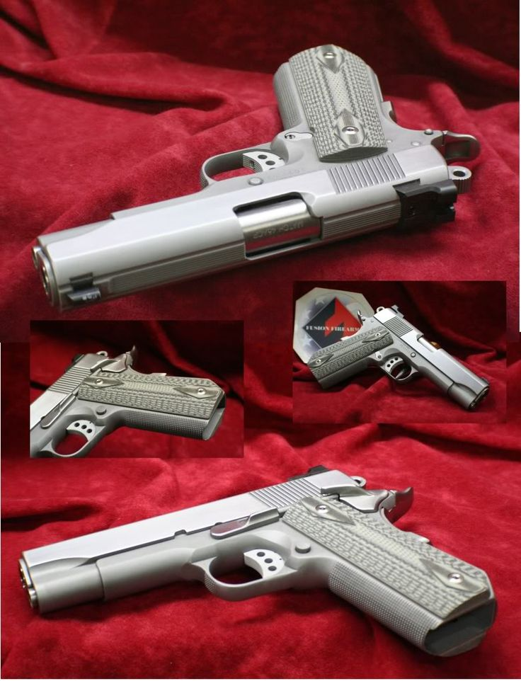 27 best Fusion 1911 Colt style Custom Pistols & Projects ...