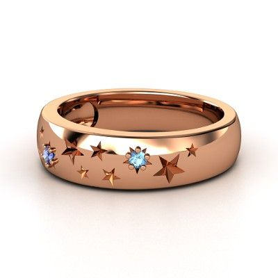 This 'Written in the Stars Ring' reminds me of Van Gogh's 'Starry Starry Night' painting.