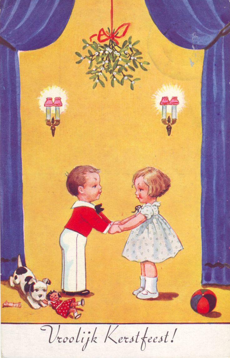 Kerstkaart 1950