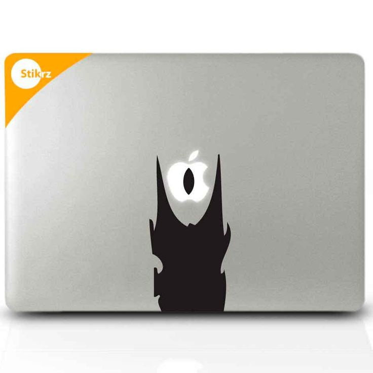Lord of the rings eye of sauron laptop sticker for mac via etsy